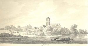Lochem, gezicht in de stad over de Berkel