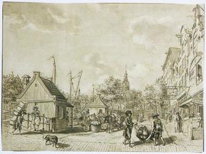 Het Kleerveer op het Singel te Amsterdam