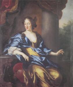 Portret van Ulrika Eleonora (1656-1693), koningin van Zweden