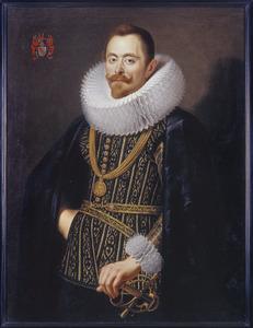 Portret van Frederick de Marselaer (1586-1670), burgemeester en schepen van Brussel