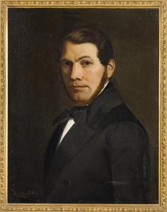Portret van Johann Gerhard Heinrich Schröder (1813-1887)