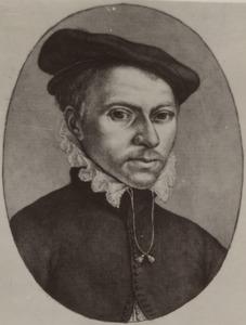 Portret van Willem  Backer (1528-1575)