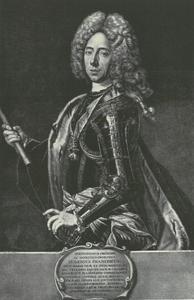 Portret van prins Eugenius van Savoye (1663-1736)