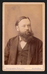 Portret van Conrad Jan Hacke (1847-1924)