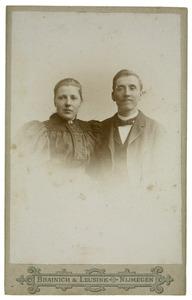 Portret van Johannes Franciscus Reijckers (1868-1956) en Maria Henriette Wijnhoff (1870-1945)