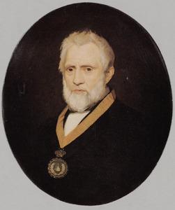 Portret van A. van Koenen