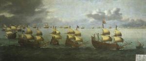 De terugkeer van Prins Charles uit Spanje op 5 oktober 1623