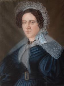 Portret van Willemina Wouterina van As (1791-1869)