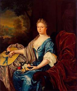 Portret van Maria Clara van der Hagen (1703-1765)