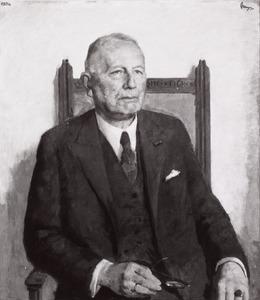 Portret van Gerhard Abraham Willem ter Pelkwijk (1882-1964)