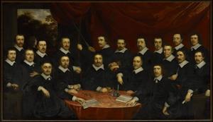 Officieren van de Sebastiaansdoelen te Middelburg, 1650