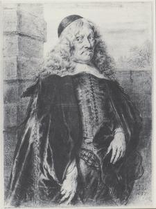 Portret van een man, mogelijk Andries de Graeff (1611-1678)