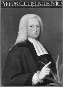 Portret van Wijer Willem Muys (1682-1744)