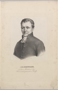 Portret van Jan Dirk Schuuring (1787-1836)