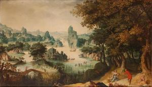 Landschap met Cimon en Efigeneia (Boccaccio, Decamerone)