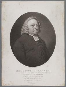 Portret van Henricus Hoffman (1744-1814)