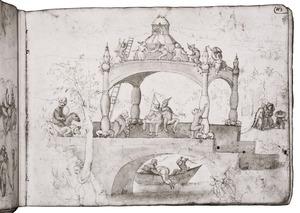 De verzoeking van de H. Antonius (fragment)