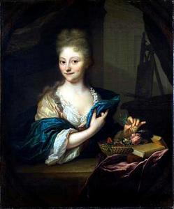 Portret van Catharina Backer (1689-1766)