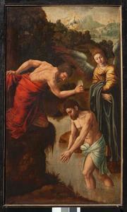 Het doopsel van Christus in de Jordaan