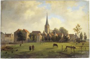 Gezicht op Rijswijk