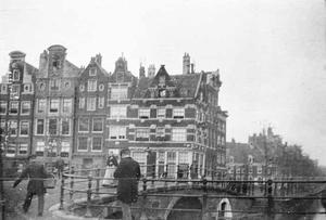 Gezicht op de Prinsengracht te Amsterdam