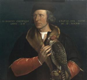 Portret van Robert Cheseman (1485-1547)