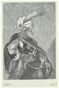 Moor met tulband en harnas
