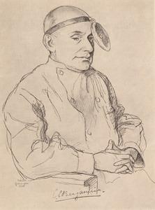 Portret van Charles Emile Benjamins (1873-1940)