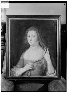 Portret van een vrouw, mogelijk Sophia Hedwig van Brunswijk-Wolfenbuttel (1592-1642)