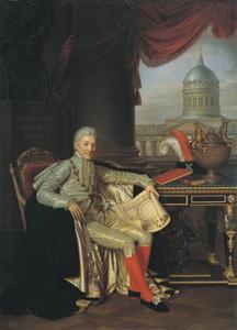 Portret van Alexander Sergeyevich Stroganov (1734-1811)