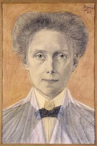 Portret van Cornelie Jacqueline Boddaert (1865-1941)