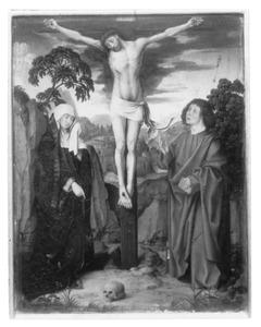 Altaarstuk met de Zeven Smarten van Maria: De Kruisiging (rechts, boven)