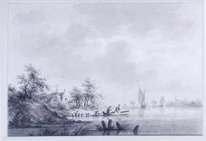Het dorp Hael aan de Waal