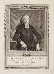 Portret van Johannes Habbema (1732-1800)