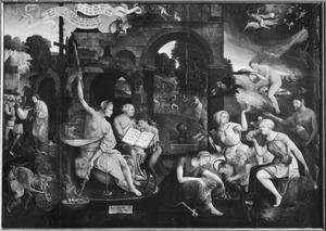 Saul bij de heks van Endor (I Sam. 28:3-25)