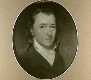 Portret van Hendrik de Roo (1743-1817)