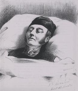 Portret van Isaac August Melvill van Carnbee (1780-1845)