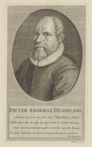 Portret van Pieter Andriesz. Hesseling (....-....)