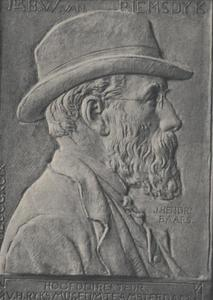 Portret van Barthold Willem Floris van Riemsdijk (1850-1942)