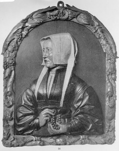 Portret van een vrouw uit de familie Van Vladeracken