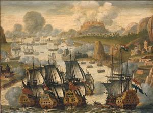 Zeeslag in de baai van Vigo op 23 oktober 1702; episode uit de Spaanse Successieoorlog