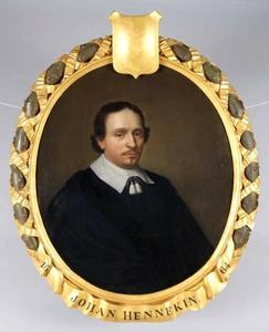Portret van Johan Hennekyn (1616-1670)