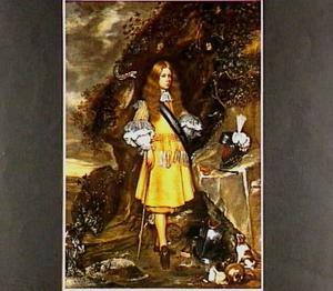 Postuum portret van Moses Ter Borch (1645 - 1667)