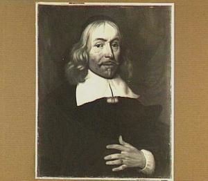 Portret van Daniel Berckringer (1598-1667); hoogleraar Praktische Wijsbegeerte (1640-1667) en hoogleraar Welsprekendheid (1648-1676) te Utrecht