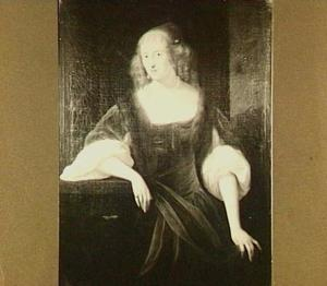 Portret van Wendela Bicker (1635-1668)