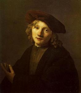 Portret van Heyman Dullaert (1636-1684)