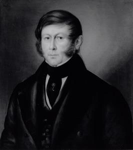 Portret van Gerardus Johannes de Rijk (1795-1875)