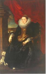 Portret van een vrouw (lid van de familie Vinck/Vincque?)