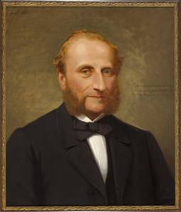 Portret van Gerardus Johannes van der Burgh (....-1876)
