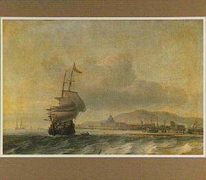 Hollands schip voor mediterrane kust
